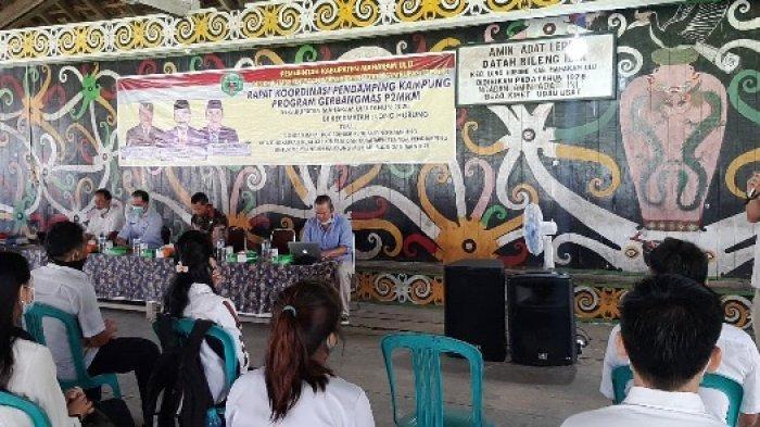 Maksimalkan Program Gerbangmas P2MKM, DMPK Mahulu Gelar Rakor Pendamping dan Petinggi Kampung