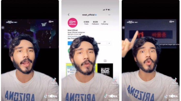 Ramai Petisi Boikot Ali Hamza, Kontennya di TikTok Dianggap Singgung Kpop hingga Trending