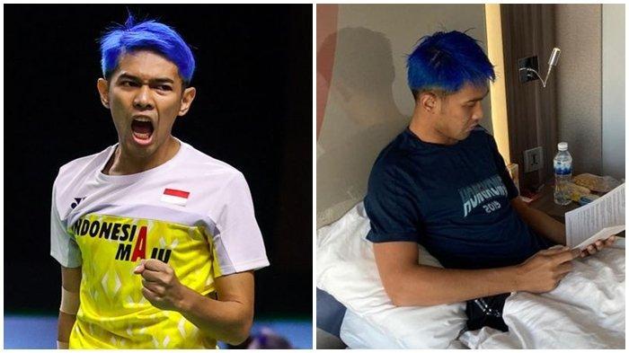 Rambut Biru Fajar Alfian di Thailand Open I 2021 Curi Perhatian, Ada Hubungan dengan Persib