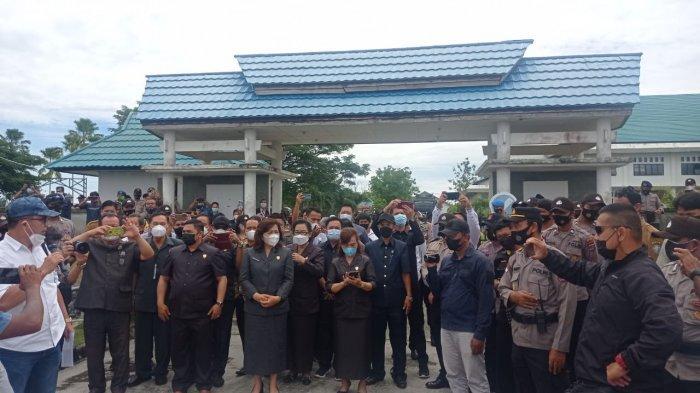 DPRD Malinau Terima Perwakilan Massa Unjuk Rasa soal Hasil Seleksi Pegawai Kontrak
