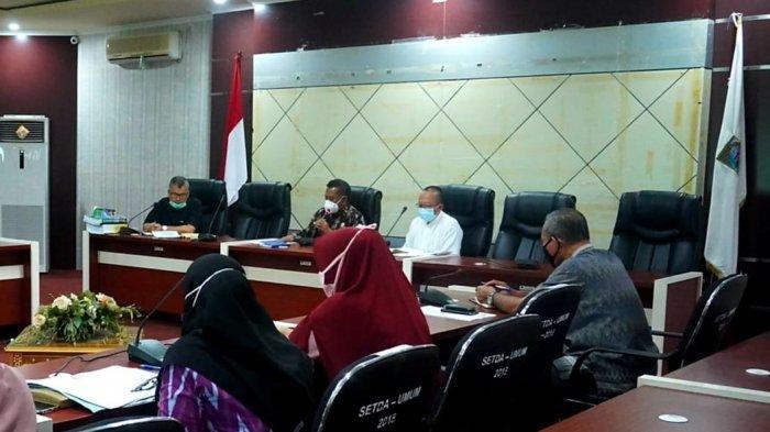Sekda Paser Katsul Wijaya Inginkan LKPj Tahun 2020 Segera Diselesaikan Akhir Pekan ini