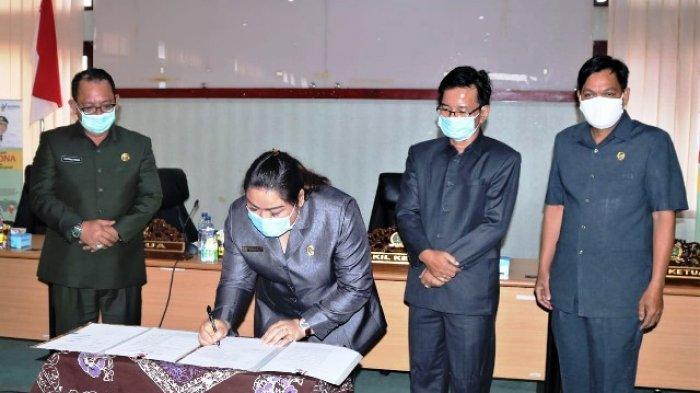 Tujuh Raperda Pemkab Mahulu Disetujui DPRD