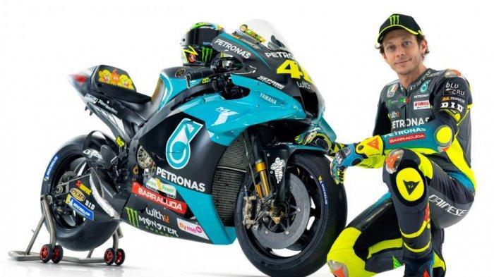 LENGKAP Jam Tayang & Jadwal MotoGP 2021 Live Trans7, Tampilan Motor Rossi dengan Petronas Yamaha