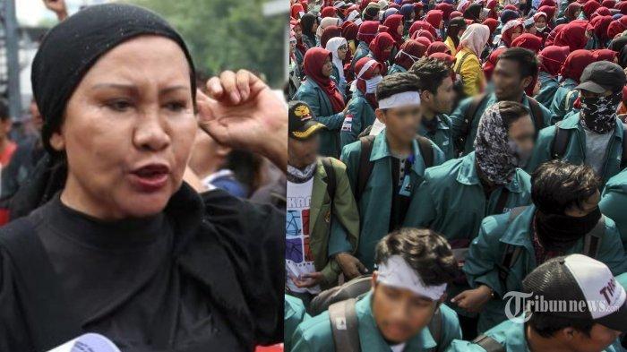 Kesal Cuitan 'Prabowo Menebar Kesesatan', Ratna Sarumpaet Sebut Jubir PSI sebagai Politisi ABG