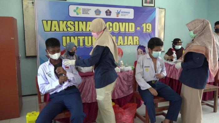 Dukung Percepatan Pelaksanaan PTM, KKP Kelas II Samarinda Bagikan 1.200 Vaksin bagi Pelajar
