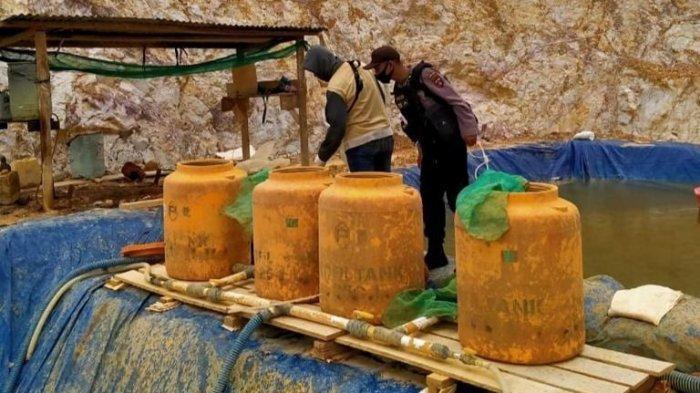 Berkas Lengkap, 3 Tersangka Tambang Emas Ilegal di Bulungan Bakal Dilimpahkan ke Kejati Kaltim