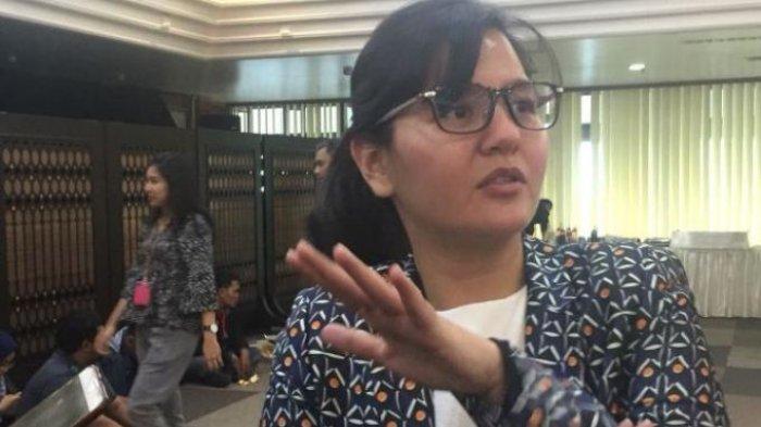 Tumpangi Jeep Rubicon, Sekjen PSSI Ratu Tisha Datang Penuhi Panggilan Satgas Polri Anti Mafia Bola