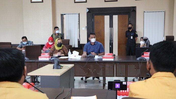 BEM FEB Unmul Sambangi Komisi IV, Bahas Kesejahteraan Masyarakat di Tengah Pandemi Covid-19