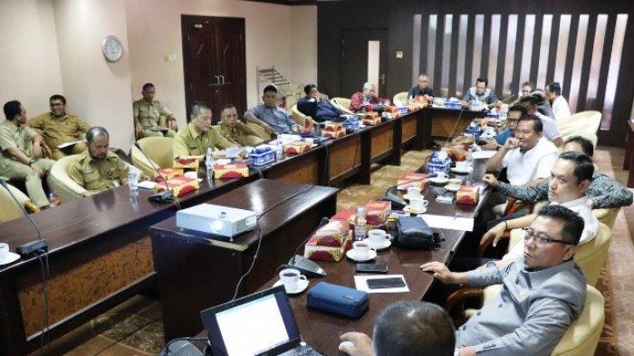 Bahas Rencana Kerja APBD dan APBD Perubahan 2020, Komisi III Rapat dengan Dinas PUPR Kaltim