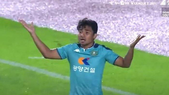 Beri Hadiah Penalti Tim Lawan, Pelatih Ansan Greeners FC Enggan Salahkan Asnawi Mangkualam