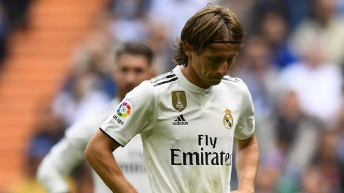 Lawan Atletico Madrid, Gelandang Real Madrid, Luka Modric Lakukan Ritual Khusus,Cium Pelindung Kaki