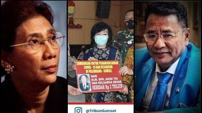 Keluarga Akidi Tio Sumbang Rp 2 T Buat Penanganan Covid-19, Cek Reaksi Beda Hotman Paris dan Susi