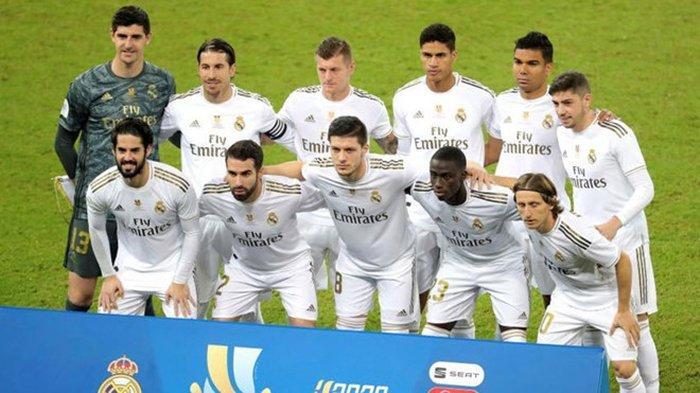 SEDANG BERLANGSUNG Real Madrid vs Cadiz, Akses Link Live Streaming Bein Sports 1, Hazard Absen