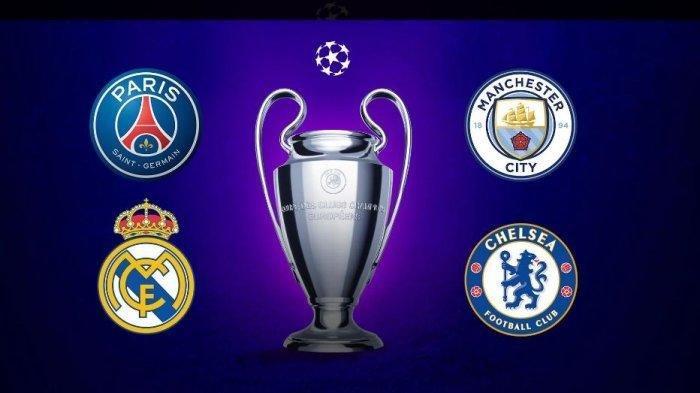 Jadwal Siaran Langsung Semifinal Liga Champions, PSG vs Manchester City Kamis Dini Hari Live SCTV