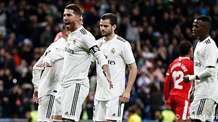 Hasil Copa del Rey - Real Madrid Unggul 3-1 atas Girona di Babak Kedua Perempat Final