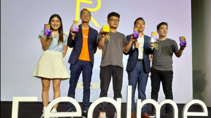 Baru Seumur Jagung, Smartphone Realme Duduki Posisi Kelima Pasar Indonesia