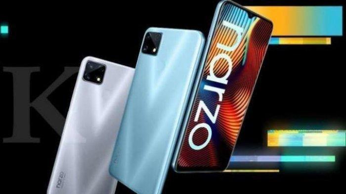 Update Harga HP Realme Februari 2021, Dilengkapi Spesifikasi Ponsel Realme Narzo 20