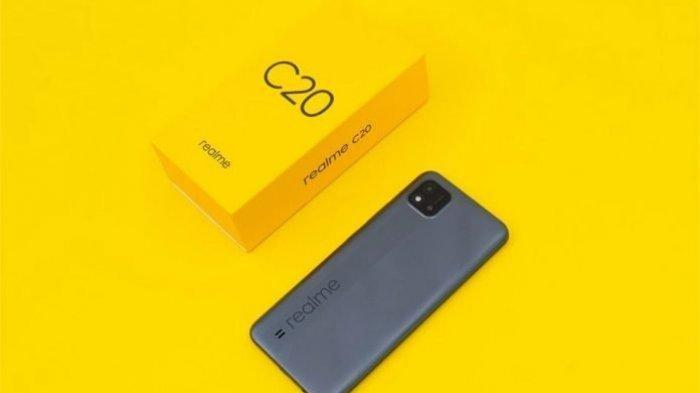 Miliki Baterai 5000 mAh, Layar 6.5 Inci dan Dengan Processor Gaming, Ini Spesifikasi HP Realme C20