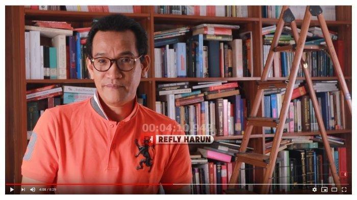 Refly Harun Beber Jusuf Kalla & SBY Gerah dengan Sulitnya Kritik di Era Jokowi, Ada Buzzer Provokasi