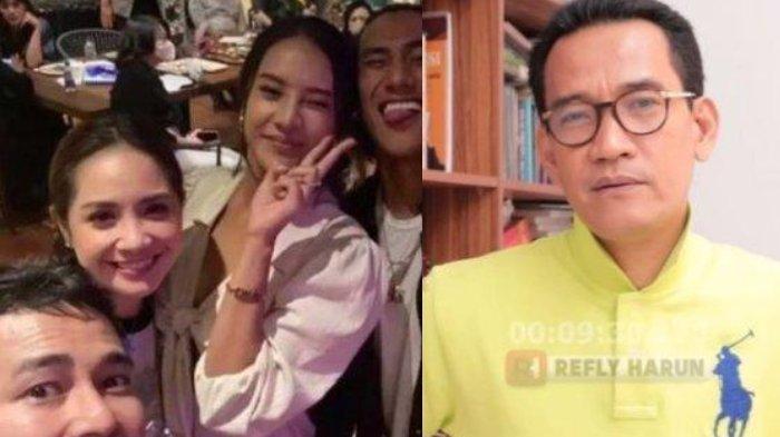 Refly Harun Tak Setuju Raffi Ahmad & Ahok Dilaporkan Langgar Prokes, Bandingkan dengan Habib Rizieq
