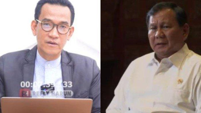 Refly Harun Sindir Sikap Prabowo Sejak Gabung Jokowi, Lupa Pernah Didukung FPI, GNPF Ulama, PA 212