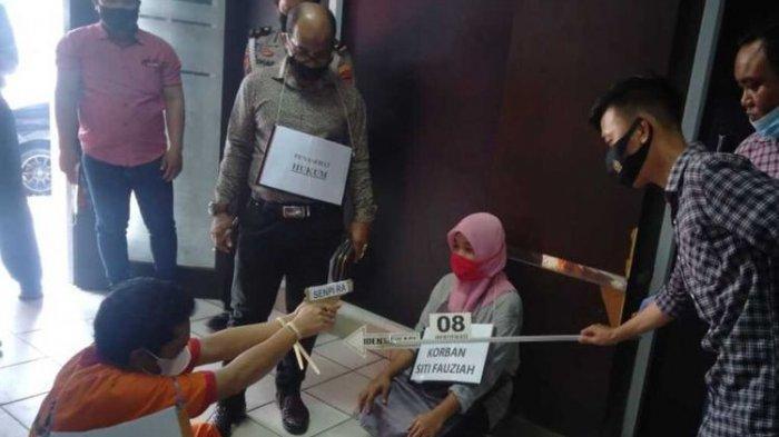 Asgaburillah Lakoni 20 Adegan pada Rekonstruksi Penembakan IRT hingga Tewas, Pelaku Mengaku Kesal