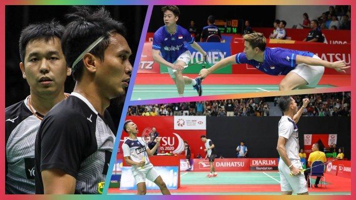 Rekap Hasil Indonesia Masters 2020, 7 Wakil Merah Putih ke Perempat Final, Tiga dari Ganda Putra