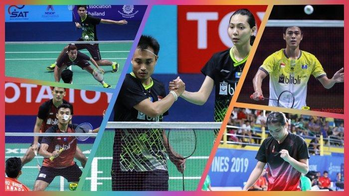 Rekap Hasil, Jadwal dan Link Live Streaming Thailand Masters 2020, 7 Wakil Indonesia, Ada Leo/Daniel