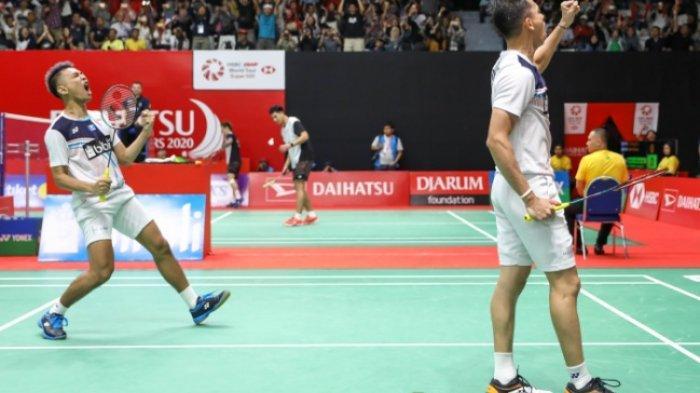Rekap Hasil Perempat Final Indonesia Masters 2020, Fajar/Rian Pastikan All Indonesian Semifinal