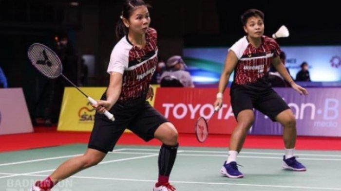 Rekap Hasil Perempat Final Thailand Open 2021 Greysia/Apriyani Wakil Terakhir Indonesia di Semifinal