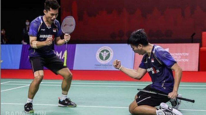 Peringkat BWF - Dua Pasang Ganda Putera Indonesia Berhasil Melesat Gara-gara Pebulutangkis China