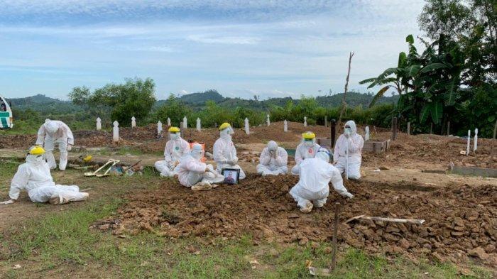 Empat Relawan Pemakaman Jenazah Covid-19 Terpapar, BPBD Nunukan Butuh 10 Orang Lagi
