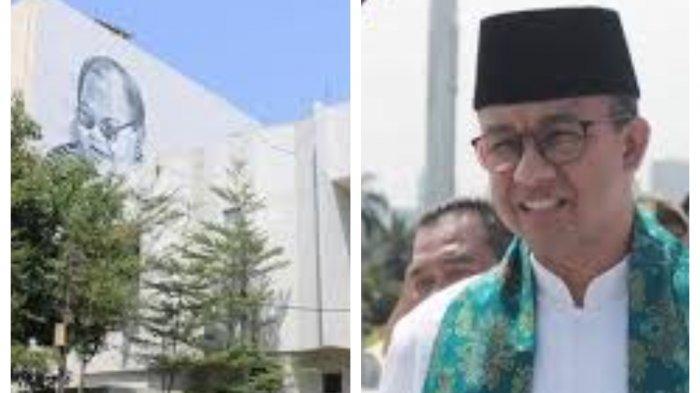 Tegas, Anggota Prabowo Subianto dan Megawati Kompak Gagalkan Proyek Hotel Anies Baswedan di TIM