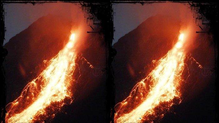 UPDATE Gunung Merapi 26 Kali Muntahkan Lava Pijar Sejauh 900 Meter, Potensi Bahaya, Gunung Meletus?