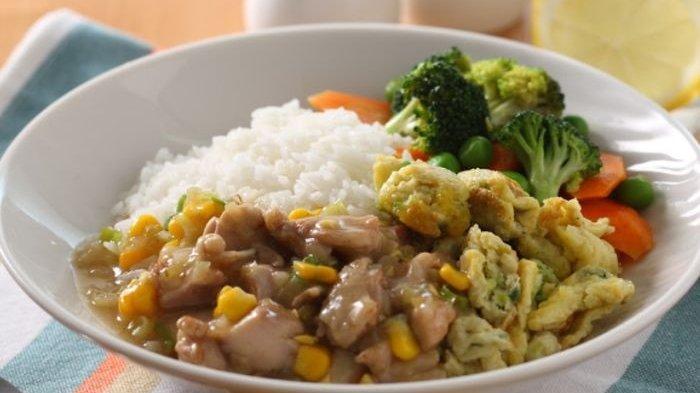 Resep Chicken Egg Rice Sedap, Cita Rasa Gurihnya Tidak Pernah Bikin Lidah Kecewa