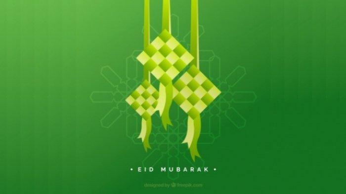 LENGKAP Ucapan dan Gambar Selamat Hari Raya Idul Fitri 1442 H, Cocok di Kirim Ke Keluarga dan Teman