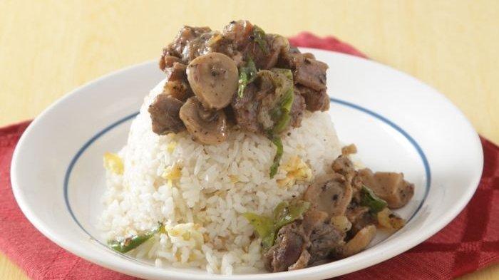 Resep Nasi Siram Kambing Lada Hitam Nikmat, Menu Makan Siang yang Mirip Buatan Restoran