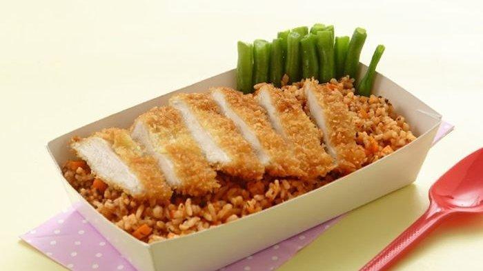 Resep Nasi Tomat Ayam Katsu Enak, Menu Sarapan ala Restoran Jepang yang Bikin si Kecil Lahap Makan