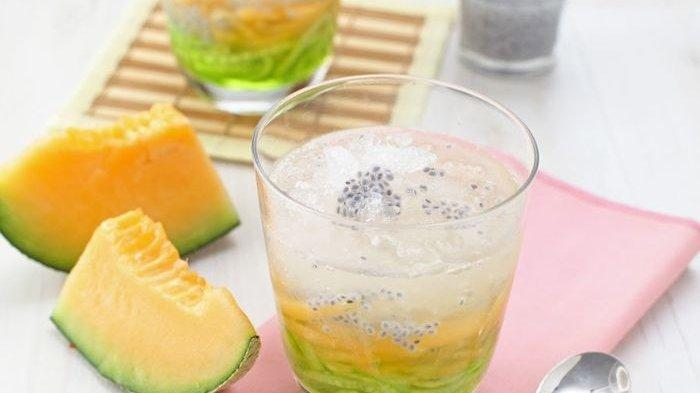Resep Punch Timun Melon, Cita Rasa Manis dan Menyegarkannya Cocok Disajikan untuk Minuman Sore Ini