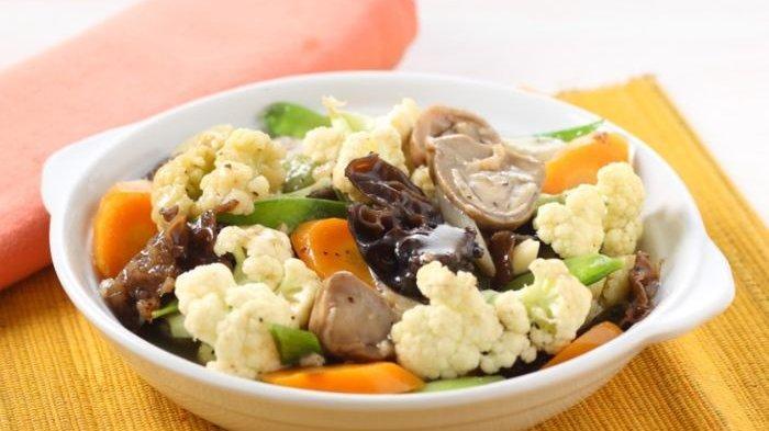 Resep Sayur Kembang Kol Jamur, Hidangan Sehat dan Mudah Dibuat yang Bikin Keluarga Lahap Makan