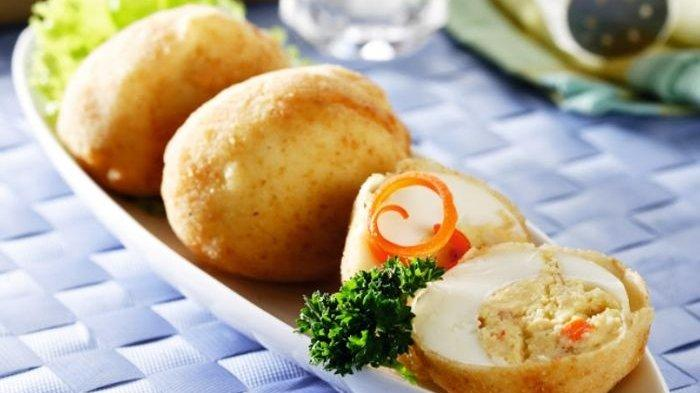 Resep Telur Isi Goreng Tepung, Tekstur Renyah di Bagian Luarnya Bikin Makan Malam Semakin Nikmat
