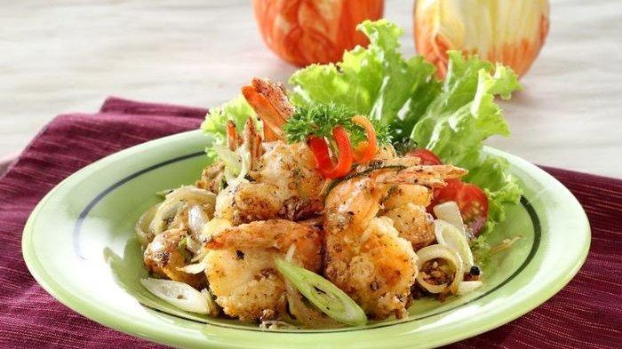 Resep Udang Merica Hitam Enak dan Praktis, Inspirasi Menu Makan Malam Istimewa pada Awal Pekan.