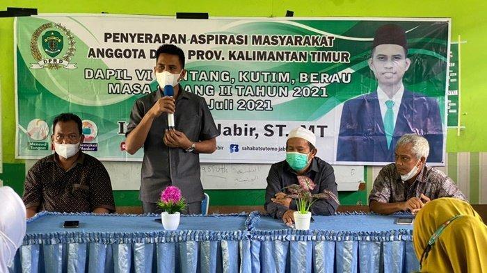 Sutomo Jabir Temui Warga Bontang, Serap Aspirasi di Daerah Pemilihannya