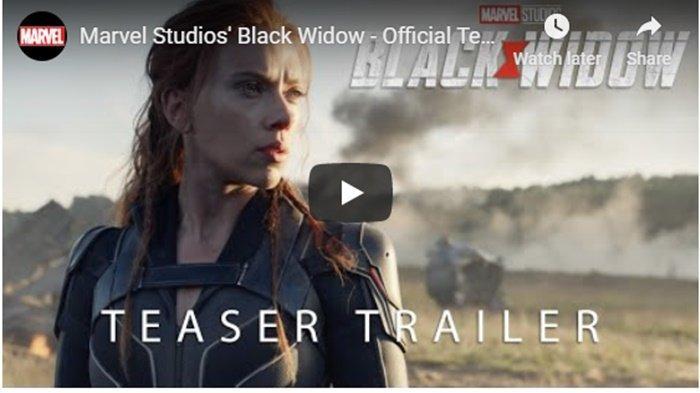 Resmi Dirilis, Tonton Trailer Pertama Film Black Widow, Aksi Scarlett Johansson Jadi Jagoan Marvel