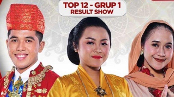 Result Show LIDA 2021 Top 12 Grup 1, Siapa Tersenggol? Iqhbal 5 SO, Meldha Polling Terendah