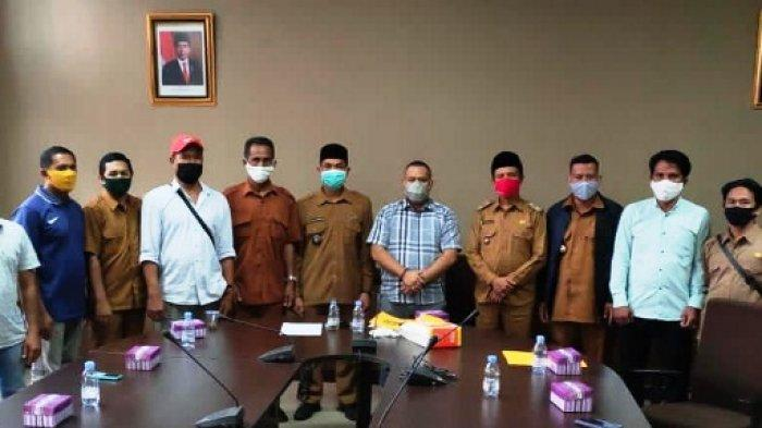 Reza Fachlevi Sambut Kedatangan Tiga Kades Kutai Kartanegara Sampaikan Aspirasi Masyarakat