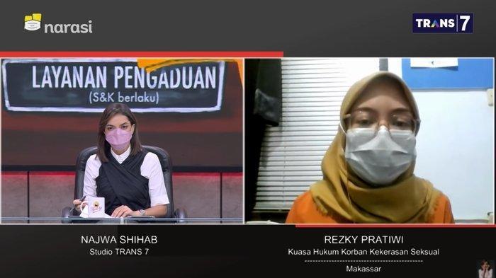 Video Pernyataan Polisi Diputar di Mata Najwa, Kenapa Korban Rudapaksa di Luwu Timur Batal Visum?