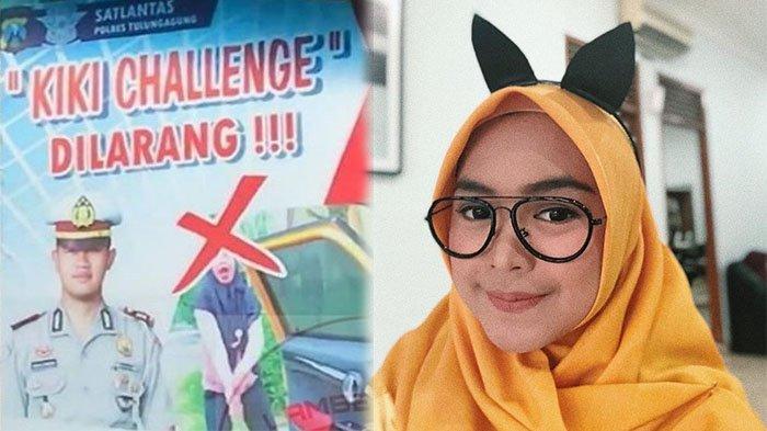 Ria Ricis Geram, Gara-gara Fotonya Dipakai dalam Poster Larangan Kiki Challenge