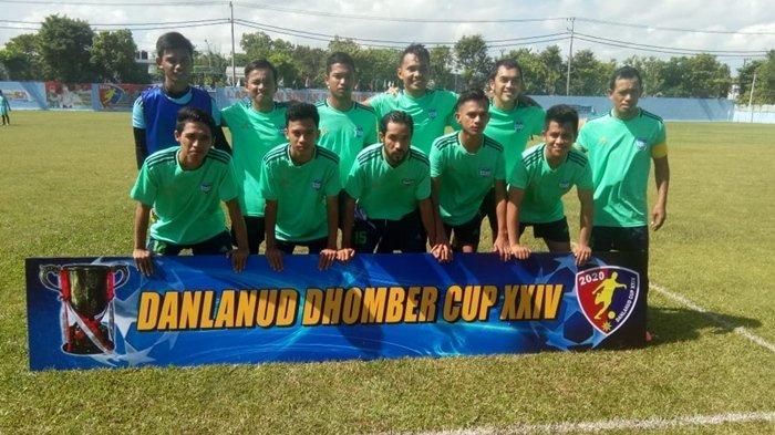 Rico FC Tumbangkan Kariangau FC 2-1 diTurnamen Danlanud Cup XXIV
