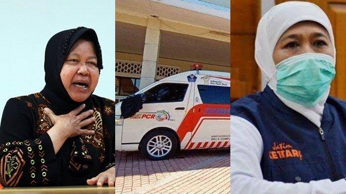 Sempat Jadi Polemik Risma dan Khofifah di Surabaya, Tim Mobil PCR Lelah Lakukan Swab Test